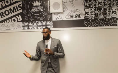 LeBron James, Welfare King